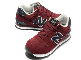new balance shoes red and black. new balance nb 574 classic purplish red black for men shoes and -