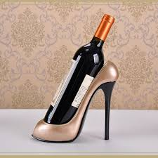 Decorative Wine Bottle Holders High Heel Shoe Wine Bottle Holder Wine Rack Accessories Bar Decoration 35