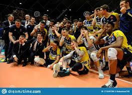Volleyball Italian Serie A Men Superleague Championship Leo Shoes Modena Vs  Cucine Lube Civitanova Editorial Image - Image of lube, nicli: 171649780