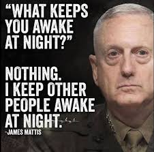 General Mattis Quotes Inspiration Mad Dog Mattis Quotes And Sayings