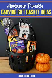 pumpkin carving gift basket