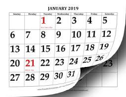 print a calendar 2019 printable 2019 calendar with large print