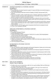 Environmental Engineer Resume Sample Sample Resume For Environmental Engineer Enderrealtyparkco 22
