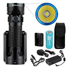 Olight - R50 PRO LE Kit 3200 Lumen <b>CREE XHP70 Rechargeable</b> ...