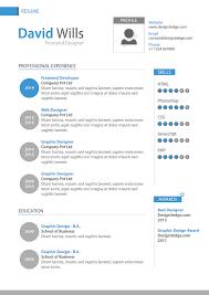 Graphic Design Resume Template Word Filename Reinadela Selva