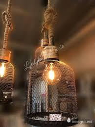Hanglamp Zwart Draad Robuust Touw Maat L Lifestyle By Leonie