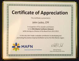 Sample Wording For Certificate Of Appreciation Guest Speaker
