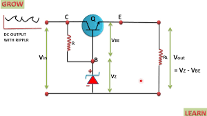 Shunt Regulator Circuit Design Transistor Series Voltage Regulator