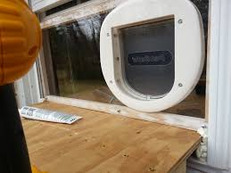 attaching the door on the outside