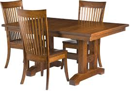 mission style dining chairs modern furniture trends and kitchen table pictures craftsman room plans