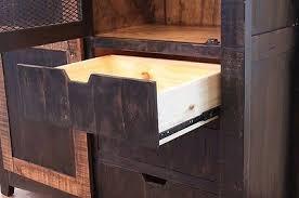 3 of 5 black anton sliding barn door entry table console