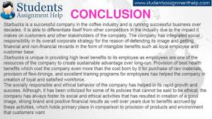 essay on starbucks csr practices conclusion 20