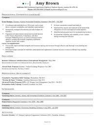 Marketing Communications Manager Resume Using Apa American