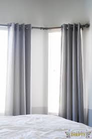 do you have bay windows i do and for five years i didn t have curtains because i couldn t figure out the curtain rod situation i figured it out