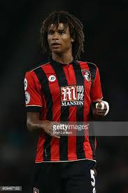 ake. nathan ake of bournemouth afc looks on during the efl cup third round match between