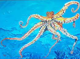 how one artist went from ing insurance to painting sea creatures full time