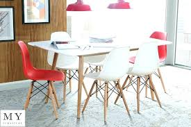 herman miller eames dining table round