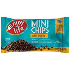 <b>Enjoy Life</b> Semi-Sweet Dairy Free Vegan Mini Chocolate Chips ...
