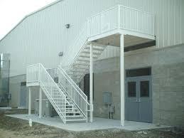 prefabricated exterior metal stairs. prev next metal stairs stairways ladders prefabricated exterior
