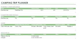 Trip Schedule Template Expense Report Template Word Fresh Travel Planner Planning