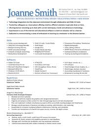 Resume Examples Free Elementary Education Resume Template Sample