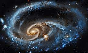 Also called arp 12, it's about 62,000 light years across, smaller than the milky way by a fair margin. Facebook