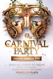Free Carnival Poster Template Carnival Party Flyer Template
