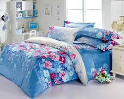 baby nursery alluring bedding set baby picture more detailed about whole rose blue fl pattern