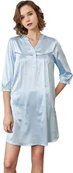 Alexander Silk Women's Silk Long Sleeve Sleepwear Luxury ...