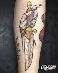 тату кинжал 50 фото татуировки 2019 года Tattooassist