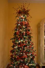 Kristen\u0027s Creations: Decorating A Christmas Tree With Mesh Ribbon ...
