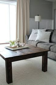learn how to build this rustic wood farmhouse coffee table at grey light