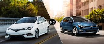 2016 Scion iM vs 2016 Volkswagen Golf
