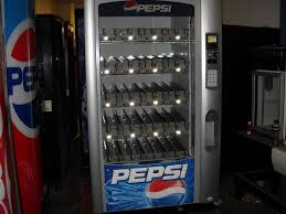 Pepsi Glass Front Vending Machine Enchanting Vendo Vue 48 Glass Front Soda Vending Machine PepsiCoke Refurbished