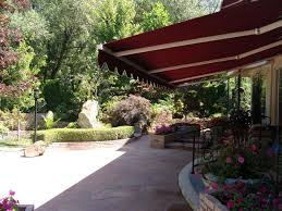 fabric patio covers. Awnings Add Class And Elegance To Your Garden Patio. With The Touch You Can Control Fabric Patio Covers \