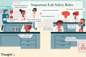Laboratory First Aid Chart The Most Common Injuries In A Chemistry Lab