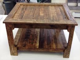 Furniture: Pallet Coffee Table Unique Rustic Coffee Table From Shipping  Pallets 101 Pallets - Pallet