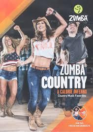Amazon Com Zumba Country Dance Fitness Music Workout Dvd