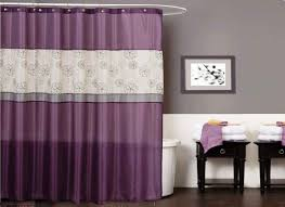 beautiful purple curved shower curtains target and charming balck table and fancy white bahtub for