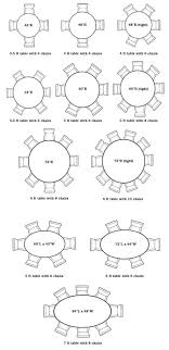 round table size for 6 unbelievable standard dining room furniture sizes decorating ideas 46