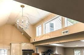 kitchen lighting vaulted ceiling. Led Kitchen Light Fixtures Vaulted Ceiling Lighting Lovely High