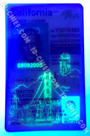 Id Light Uv Fake Vertical Maker Black Id-chief California