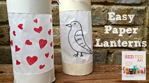 Diy Paper Lanterns Paper Crafts Diy How To Make An Easy Paper Lantern Youtube