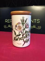 portmeirion botanic garden dog rose storage jar