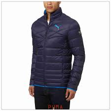 mens puma peacoat 600 packlite down jacket puma outerwear