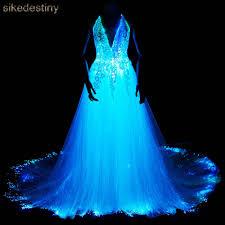 Glow Show Light Up Your Night Luminous Wedding Dress 2018 Night Glow In Dark Smart Mobile