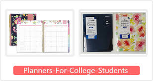 Best Academic Planner For College Students Top 10 Best Planners For College Students In 2019