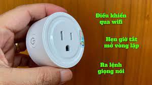 Trên tay ổ cắm điện thông minh, điều khiển qua wifi, hẹn giờ vòng lặp và  nhiều tính năng hay ho