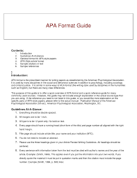 apa writing style examples 16 apa formatting example the snohomish times
