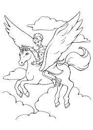 Pegasus Coloring Pages Trustbanksurinamecom